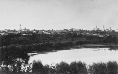 Город со стороны плотиным - Чембар_со_стороны_Безымянного_озера_2.jpg