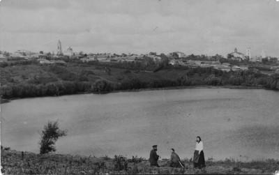 Город со стороны плотины - Чембар_со_стороны_Безымянного_озера_3.jpg