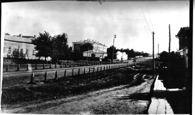 Улица Ленина ближе к центру  - Чембар_Тамбовская_улица_(Ленина).jpg