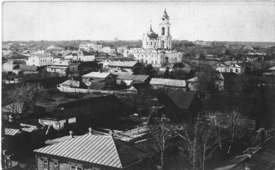 Центр города, снимок со здания пенсионного фонда - Чембар_центр_2.jpg