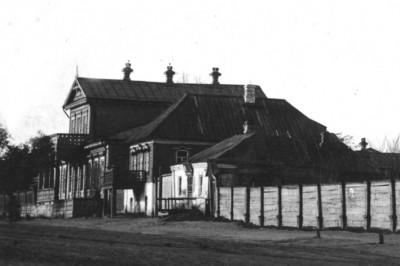 Дом на Барышева напротив входа в музей Белинского  - Чембар_дом.jpg
